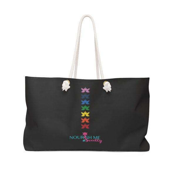Weekender or Day Trip Bag in Black