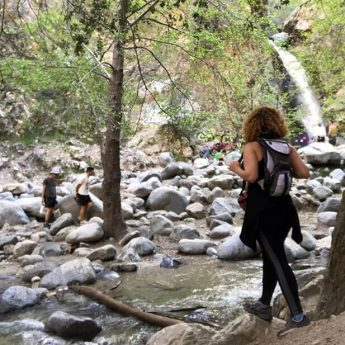 eaton canyon water falls